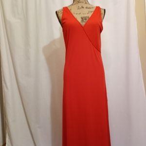 VICTORIA'S SECRET RIBBED MAXI DRESS, MEDIUM
